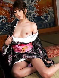 Hot world of wild Japanese babe named Kaede Matushima