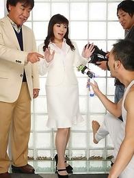 Mizuki Hayama\'s cunt exposed