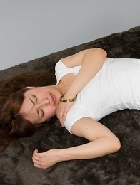 Yukari Toudou lets a guy fuck her delicious-looking feet after some teasing