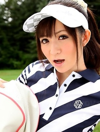 Michiru Tsukino is a hot golf babe