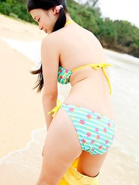 Kana Tsuruta is hot and naughty no matter what she does