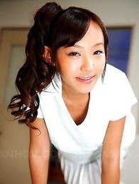 Lovely Japanese schoolgirl Nagisa