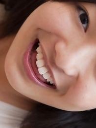 Mayumi Yamanaka with big hooters smiles and is very playful