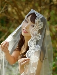 Neo is sexy both as cowboy and as a bride in the forest