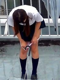 Japanese Piss Fetish Videos - Girls Pissing - Yellow Fun What A Splash