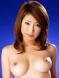 Big tits japan idol Mika Kayama with hairy pussy