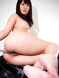 Mayuka Momota cant get enough cock in her mouth and begs with her eyes to have her throat stuffed with thick cock.