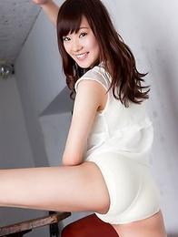 Kana Yuuki shows you how how great she looks in white